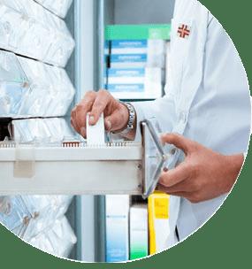 Especialista en dispensación de productos parafarmacéuticos