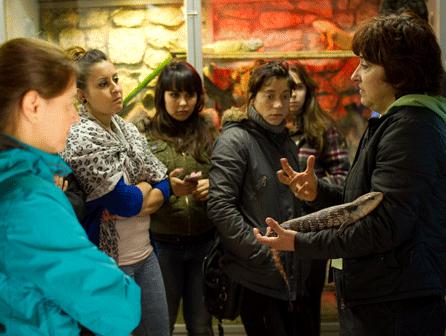 ISED Bilbao vuelve al centro de recuperación de fauna Basondo
