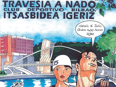 75 Travesía a nado por la Ría de Bilbao