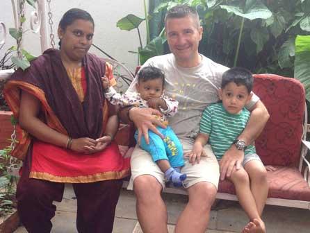 Masaje ayurveda bebé