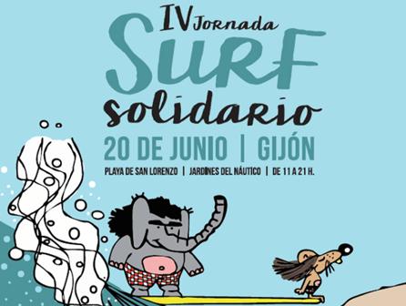 Surf solidario con ISED Asturias