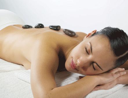 curso de masaje con piedras calientes