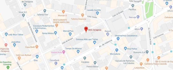 ised-Zaragoza-direccion-mapa